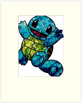 Bubble-y Squirtle by Morware