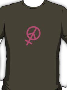 Female Peace T-Shirt