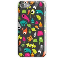 Monsters Escaped iPhone Case/Skin