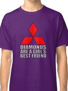 Diamonds are a Girl's Best Friend Classic T-Shirt