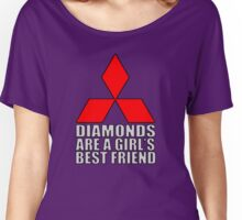 Diamonds are a Girl's Best Friend Women's Relaxed Fit T-Shirt