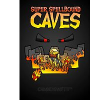 Super Spellbound Caves - Blaze Poster Photographic Print
