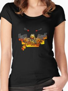 Super Spellbound Caves - Blaze T-Shirt Women's Fitted Scoop T-Shirt