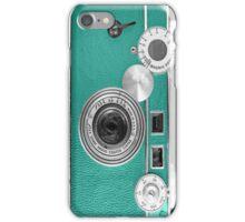 Teal retro i=phone case iPhone Case/Skin