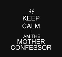 Keep Calm I am the Mother Confessor Women's Fitted Scoop T-Shirt