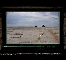 Bomb Ballistics Building Window by Nigel Bangert