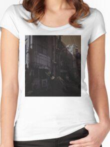 Guts In Tokyo Women's Fitted Scoop T-Shirt