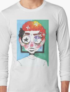 Tired Eyes and Early Mornings Long Sleeve T-Shirt