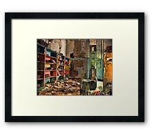 Lost Library Framed Print