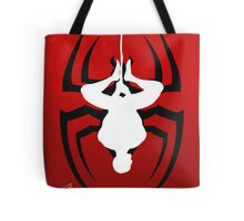 Reverse silhouette Spidey Tote Bag