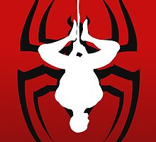 Reverse silhouette Spidey by LucasDimension