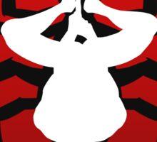 Reverse silhouette Spidey Sticker