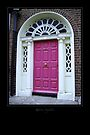 Red Door - Dublin by Roberta Angiolani