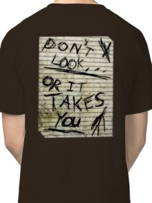 Oh slender, u so scary Classic T-Shirt