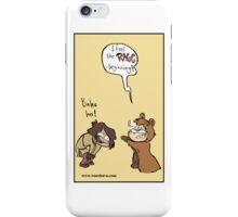 WU - I feel the rage begining  iPhone Case/Skin