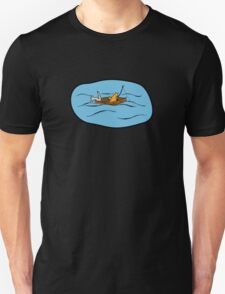 Fishing Boat Cats T-Shirt