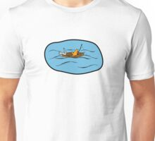 Fishing Boat Cats Unisex T-Shirt
