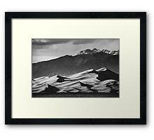 Rugged Dunes Framed Print