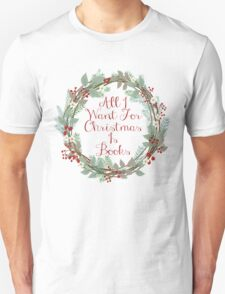 All I Want For Christmas Is Books T-Shirt
