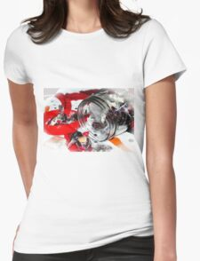 Christmas Candy Jar Womens Fitted T-Shirt