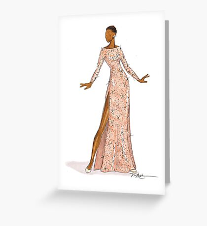 Glamour One Greeting Card