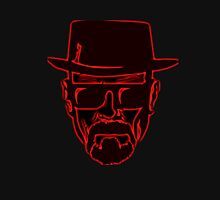 Walter White Heisenberg Breaking Bad Red Neon Unisex T-Shirt
