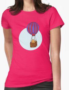 Hot Air Balloon Cat T-Shirt