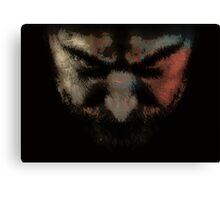 Anger - Digital Art Print Canvas Print