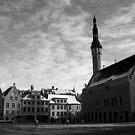 Tallin - Raekoja Plats (Town Hall Square) by Colin Shepherd