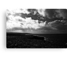 Ireland in Mono: Distant Shores Canvas Print