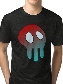 Bluey Skull Tri-blend T-Shirt