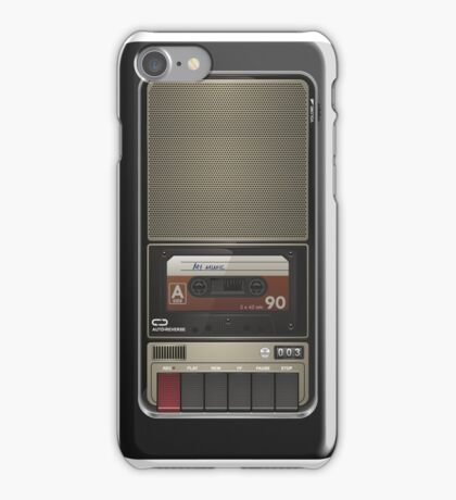 My old cassette player... iPhone Case/Skin