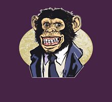 Grinning Chimp in a Monkey Suit T-Shirt
