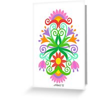 VERTICAL ARTWORK 02 Greeting Card