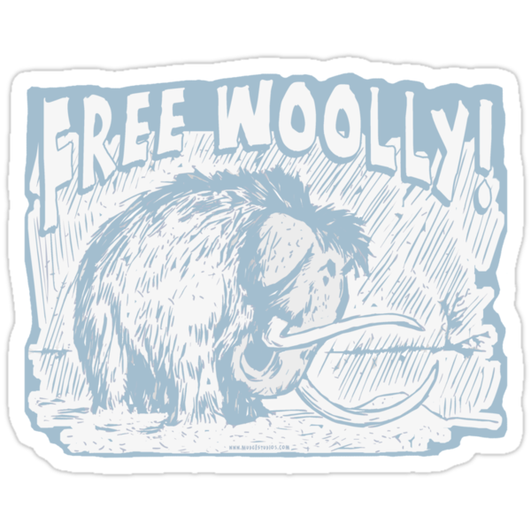 Free Woolly Mammoth by MudgeStudios