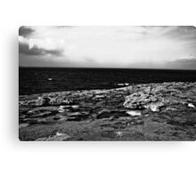 Ireland in Mono: You've Turned My World Around Canvas Print