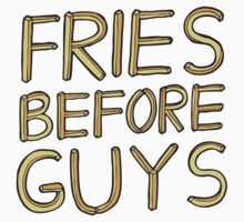 Fries Before Guys Baby Tee