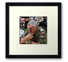 The charismatic faces .........Celebrities Photography .... by Andrzej Goszcz. Framed Print