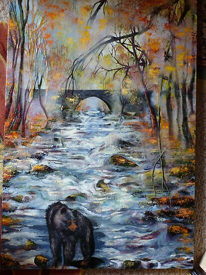 Great Smoky Mountains National Park - Painting by JeffeeArt4u