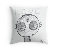 the saddest man alive (original un-photoshopped) Throw Pillow