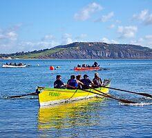 Gig Races ~ Lyme Regis Regatta by Susie Peek
