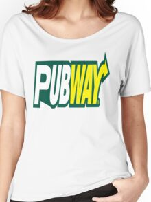 PUBWAY :) Women's Relaxed Fit T-Shirt