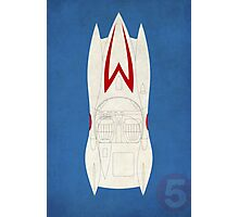 Mach 5 Outline Photographic Print