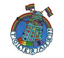 Daleks Tolerate! Photographic Print