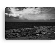 Ireland in Mono: Never Too Far Canvas Print