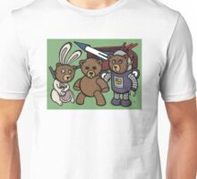 Teddy Bear And Bunny - Spies Among Us Unisex T-Shirt