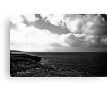 Ireland in Mono: Between Two Worlds Canvas Print