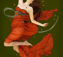 Autumn Dance II by Tiffany Muff
