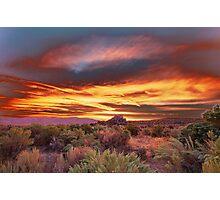 Palomino Valley Pre-Sunrise Photographic Print