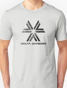 Almost Human Delta Division (Black) Unisex T-Shirt